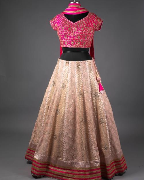 Lehenga - Rani Pink 4911