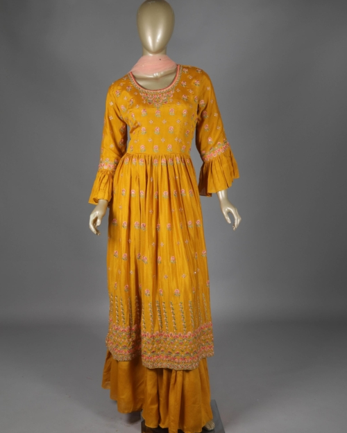 Ready To Wear - Mustard Yellow 1737