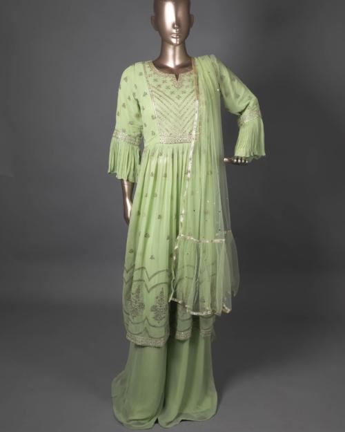 Ready To Wear - Pista Green 1722