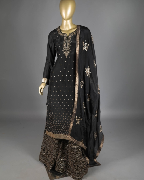 Salwar Kameez - Black 1100