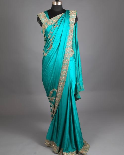 Saree - Jade Green 5945